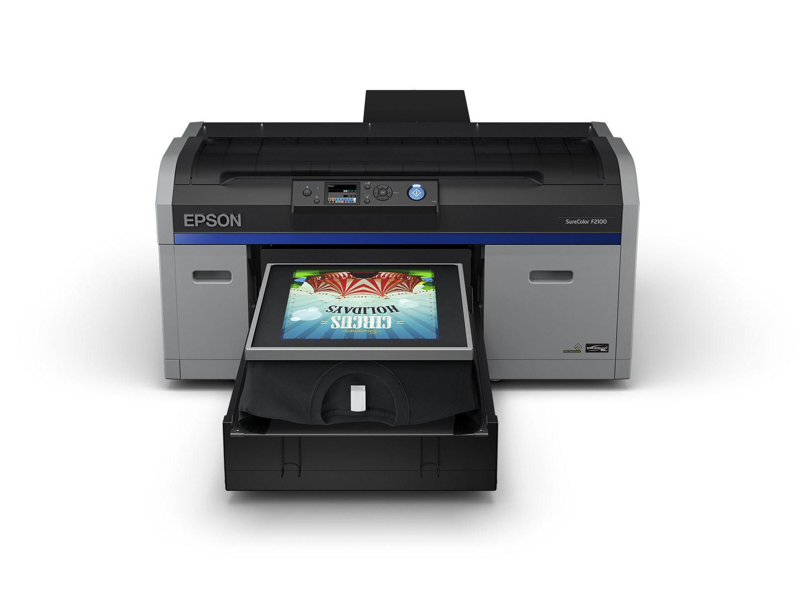 ce7ca0c1d The SureColor F2100 offers high-performance, reliable direct-to-garment  printing. Successor to the renowned SureColor F2000, the new SureColor  F2100 offers ...