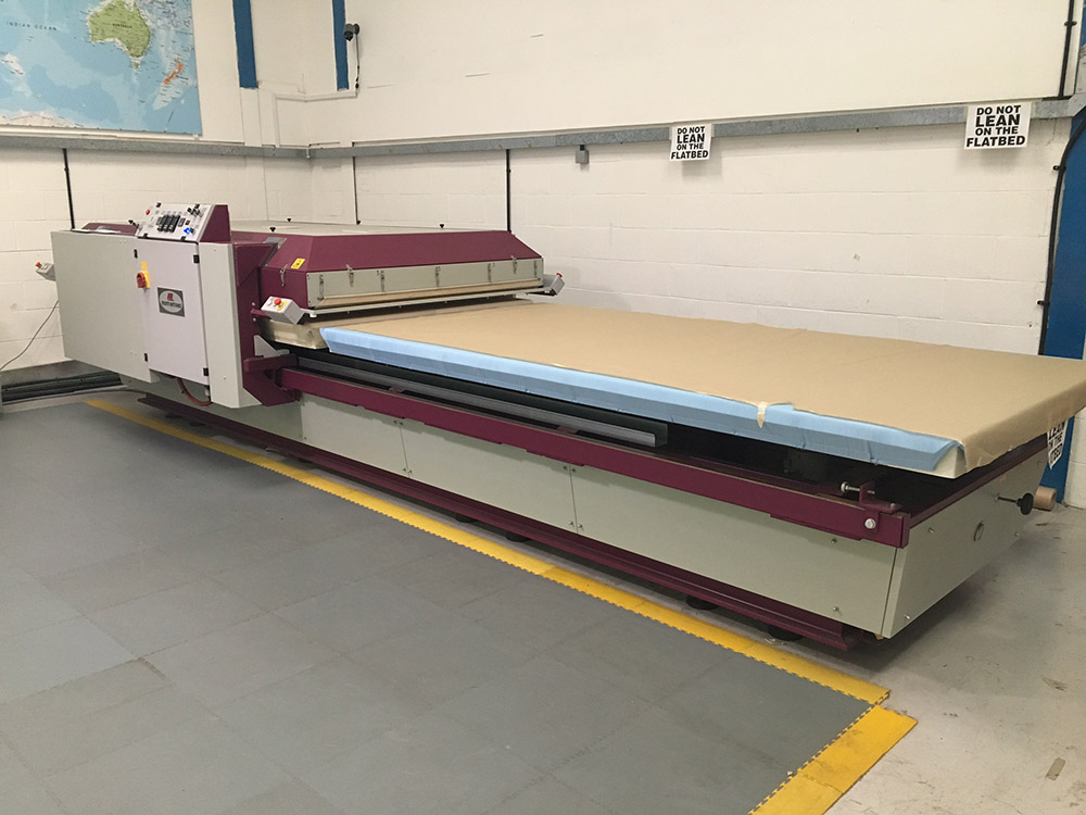 MONTI ANTONIO Maxi 200 Hydraulic (Twin Table) Heat Press 310x160cm